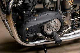 custom bobber motorcycle frames. Wonderful Frames As Youu0027d Expect An Old Triumph Engine In A Rigid Frame Makes For Some  Powerful Vibrationsu201d Inside Custom Bobber Motorcycle Frames