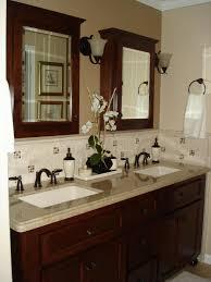 bathroom sink decor. Winsome Inspiration Bathroom Sink Backsplash Ideas For Cheap Decor M