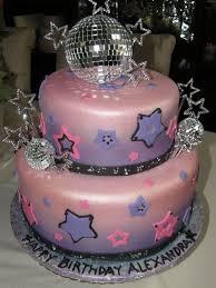 Disco Ball Cake Decorations