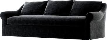 belgian roll arm slipcovered sofa 3d model