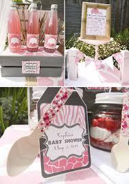 posh pink safari baby shower