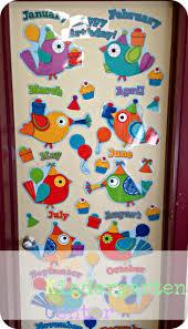 Birds Chart For Kindergarten Boho Bird Birthday Display The Bday Calendar I Want