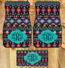 car floor mats for women. Fabulous-Car-Mats-Aztec-Tribal-Monogrammed-car-mats- Car Floor Mats For Women E