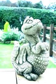 dragon garden statues s fly welsh resin