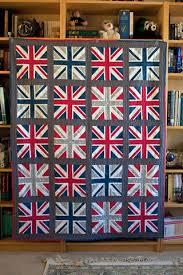 Union Jack Quilt   union jack quilted   Pinterest   Patchwork ... & Union Jack Quilt Adamdwight.com