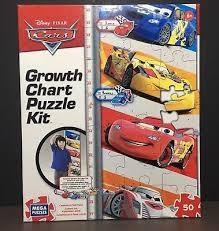 Disney Pixar Growth Chart Cars Vinyl Wall Decals Self