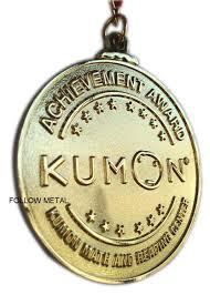 Kumon Math And Reading Hot Item Souvenir Award Medal Gift For Kumon Math And Reading Center