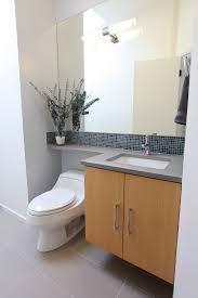 bamboo vanity bathroom. Mid Century Vanity Bathroom Midcentury With Bamboo Tile