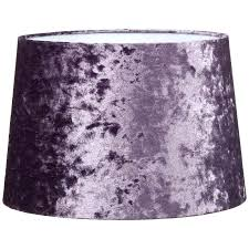 lamp shade purple crashed velvet purple light shade purple table lamp shade uk