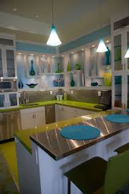 colorful contemporary modern industrial. Green And Blue Colour Combination. Kitchen ModernContemporary Colorful Contemporary Modern Industrial S
