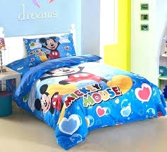 mickey mouse bedding queen size image of toddler theme set quee mickey mouse full bed set