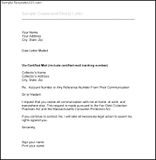 Cease And Desist Letter Template Extraordinary Cease And Desist Letter Sample Harassment Template Copyright Co