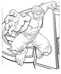 Small Picture Hulk Jump Coloring Page Colouring in Pinterest Hulk and