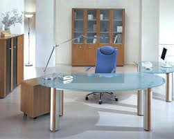 Office Design Excellent Decor Glass Top Office Desks Full Size