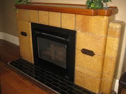 the art deco fireplace in the oscar s hotel dining room doveton street ballarat