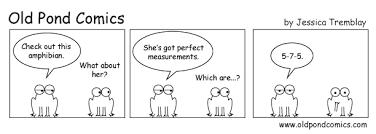 What Is The Pattern Of A Haiku Mesmerizing Old Pond Comics A Fun Way To Learn Haiku Through Cartoons