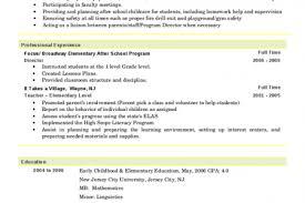 Parent Educator Resume - Reentrycorps