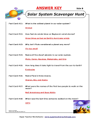 Universe Worksheets 6th Grade | Homeshealth.info