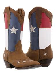 women s texas flag rodeo cowgirl boots square toe
