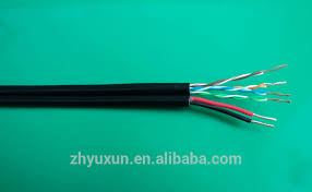 cat5 power cable or with coaxial cable used for ip camera buy security cameras cat5 vs coax at Cat 5 Wiring Power
