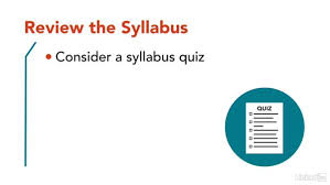 How To Write A Syllabus Review The Syllabus
