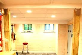 basement wall ideas dry unfinished covering