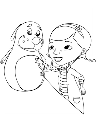 Free Doc Mcstuffins Coloring Pages For Kids Coloringstar