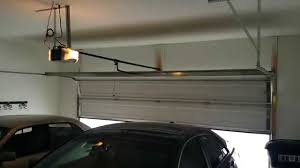 image of popular garage door opener installation