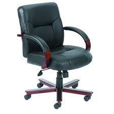 boss office products high back executive leather chair with knee tilt executive leather office chair d46