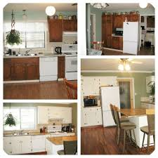 painting oak kitchen cabinets painted wood before and after tikspor refinishing wooden units updating without staining