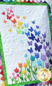 Quilts With Applique Patchwork Quilting Applique Linda Seward ... & Quilts With Applique Circles Blooming Butterflies Quilt Pattern Baby Quilts  With Applique Quilt Patterns With Applique Adamdwight.com