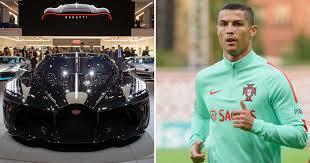 La voiture noire is a tribute to bugatti's own history, a manifesto of the bugatti aesthetic and a piece of automotive haute couture. Cristiano Ronaldo Just Bought World S Most Expensive Car A 16 5 Million Bugatti Pics Mtl Blog