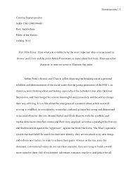 tips for writing the bonnie and clyde essay bonnie and clyde essay dagsljus