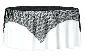 lace table overlays square overlay topper black gold