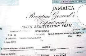 Correction Of Error On Birth Certificate
