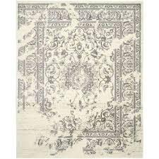 safavieh handmade himalaya grey wool rug area rugs the home depot ivory silver compressed
