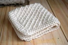 Knit Dishcloth Pattern Awesome Basic Cotton Dishcloth Knitting Pattern FaveCrafts