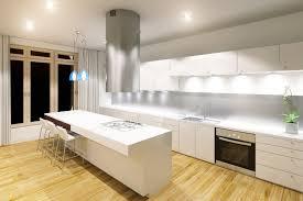 modern kitchen with glass splashback by dynamic glass melbourne