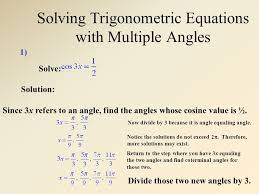 20 solving trigonometric