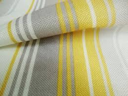 Curtain Fabric Nova Yellow Stripes Curtain Fabric By Curtains N Fabx