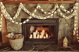 Rustic Fireplace Candles Live La Vida Lo