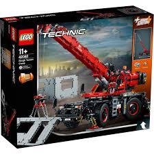 Lego Technic Rough Terrain Crane 42082 Big W