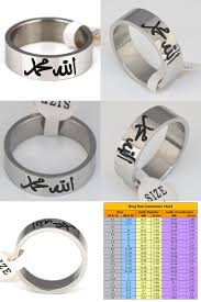 Middle East Ring Size Chart Pin On Rings