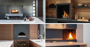 kitchen design ideas include a built in wood fire oven or pizza oven into