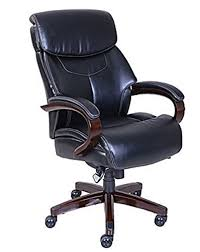 leather office chair. La-Z-Boy Bradley Bonded Leather Executive Chair - Chestnut Office C