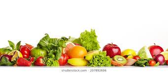 fruit and vegetables border. Exellent Fruit Fruit And Vegetable Borders In And Vegetables Border Shutterstock