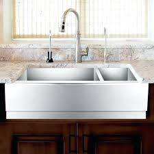 28 inch farmhouse sink. Fine Farmhouse 28 Apron Sink Gallant Stainless Steel Offset Double Bowl Farmhouse  Beveled Inch   With Inch Farmhouse Sink T