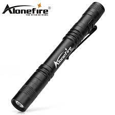 Alonefire P50 CREE XPE LED 1 Chế Độ Công Nghiệp Quân Sự Tiêu Chuẩn Chống  Thấm Nước Di Động Bút Mini Kèm Đèn Pin Đèn Pin AAA Battey|flashlight  torch|mini flashlight torchmini flashlight -