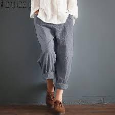 Buy Fashion ZANZEA Fashion Women <b>High Elastic Waist Pockets</b> ...