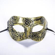 Large Masquerade Masks For Decoration Men'S Masquerade Mask Party Decoration Supplies Antique Gold Ninja 46